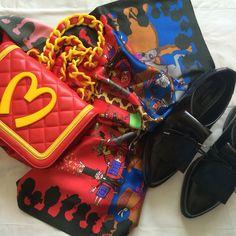 Moschino & Zara flatlay SS15 #fashionblogger #blog #bunnipunch www.bunnipunch.co.uk