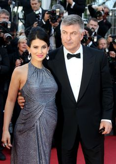 "2013 Cannes Film FestivalAlec Baldwin and Hilaria Thomas arrive at the ""Blood Ties"" premiere at the Cannes Film Festival on May 20, 2013."