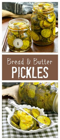 Bread and Butter Pickles | Easy refrigerator pickles just like my mom used to make! @lizzydo