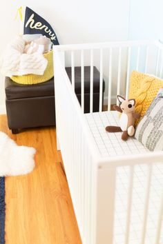 DIY fitted crib shee
