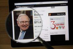 Warren Buffett's 14 best tips