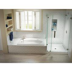 Bathroom Interior, Modern Bathroom, Bathroom Vintage, Neutral Bathroom, Master Bathroom Layout, Master Bathtub Ideas, Master Bathroom Plans, Bathroom Design Layout, Master Master