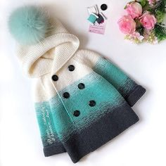 Best 12 – Page 51791464451694522 – Skill - Diy Crafts - Marecipe Baby Cardigan, Baby Pullover, Knitting For Kids, Baby Knitting Patterns, Girls Sweaters, Baby Sweaters, Winter Outfits For Girls, Kids Outfits, Knitted Baby Clothes