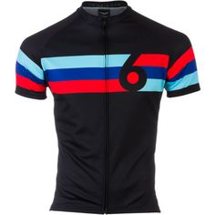Twin Six Grand Prix Jersey - Short-Sleeve - Men'sBlack/Multi