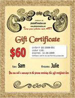 1-100 Year Anniversary Photo Collage Gift Certificate Sample, Gift Certificates, Anniversary Gifts For Parents, Anniversary Photos, Mail Gifts, Online Coupons, Parent Gifts, Coupon Codes, Collage