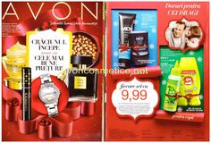 Catalog Avon Campania 16/2016 Primul Catalog Avon care deschide sezonul…