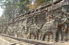 Elephant Terrace - The Beach-and-Temple Duo of Cambodia