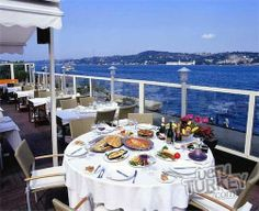Rooftop Terrace At Park Fora Fish Restaurant In Istanbul Turkey Best