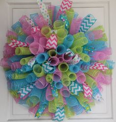 Spring Curlique Wreath