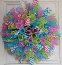 Spring Curlique Wreath