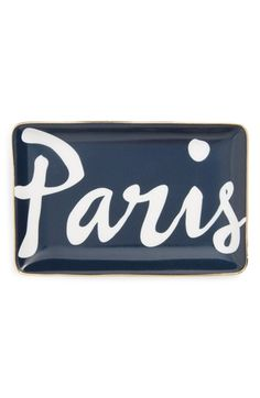 Rosanna 'Paris' Porcelain Trinket Tray available at #Nordstrom