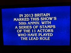 What is.... Doctor Who!
