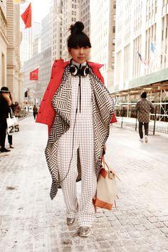 Blogger Susie Lau. Photo: Jason Rowe/Fashionista.