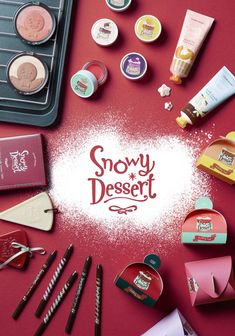 Etude House Snowy Dessert Makeup collection for Holiday 2015
