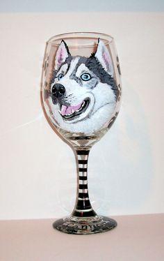 Wedding Gift Custom DOGCAT Wine Glass wname /& face Personalized Gift Birthday Gift Stemless Wine Glass