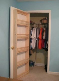 Expanding your closets