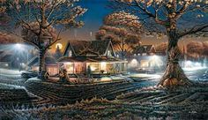 His First Date by Terry Redlin