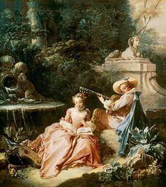 Bild:  François Boucher - The Music Lesson