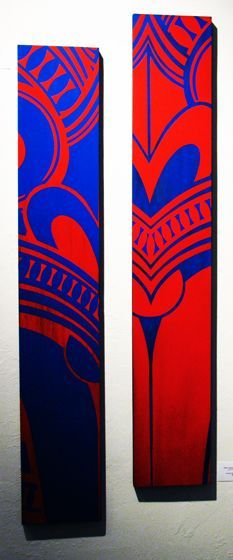 Related image Polynesian Art, Maori Designs, Tiki Art, New Zealand Art, Nz Art, Maori Art, Stencil Painting, Aboriginal Art, Mural Art