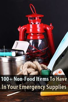 Angela from @foodstorage made a list of over 100 non-food items that preppers should store. Do you have all of these items?