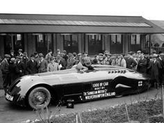 1927 Sunbeam 1000 HP Land Speed Record Car. I'm skeptical of their HP claim, but a wonderful vehicle nonetheless.