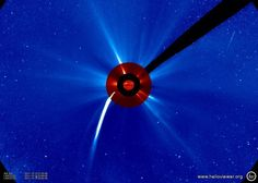 Lovejoy is visible by LASCO C2.