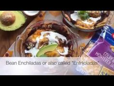 How to make Bean Enchiladas or Enfrijoladas #NaturallyCheesy [ad]