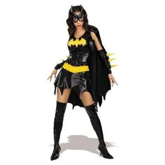 Bat Girl Halloween Costume for Woman