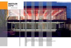 curlee true communication gestaltet die Webseite für Bottler Lutz Architekten, München
