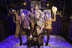 MS. FABULOUS: Steampunk Style at the New Theater - Around the World in 80 Days, costume design by Rachel Klein