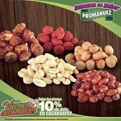 ¡Fin de semana! Ven a #Promanuez por la mejor botana para que disfrutes de este día, con el 10% de descuento para ti. Esta deliciosa. ¡Te esperamos! 😉 http://www.promanuez.com.mx/productos