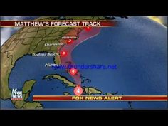 Possible impact of Hurricane Matthew in Florida