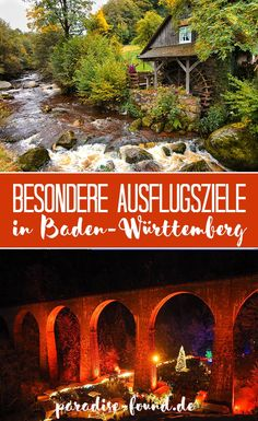 You must have seen these special excursion destinations in Baden-Württemberg! Tips for Stuttgart, Black Forest, Schönbuch and Swabian Alb for all seasons. Holiday Destinations, Travel Destinations, Paradise Found, Travel Alone, Black Forest, Camping Hacks, Holiday Travel, Time Travel, Viajes