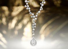 Collier Blu Intermezzo BY KIM Diamant Tropfen-Schliff