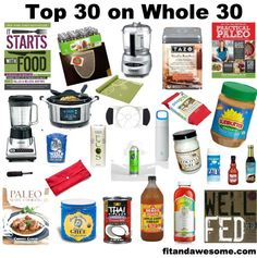 My Top 30 Essentials: Items I've Found Useful On My Journey - Health Snacks Whole 30 Diet, Paleo Whole 30, Whole 30 Recipes, Clean Eating Recipes, Whole Food Recipes, Healthy Eating, Paleo Recipes, Paleo On The Go, How To Eat Paleo