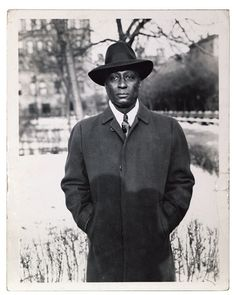 Lead Belly in Wilton, Connecticut, 1930s (Courtesy...