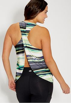plus size tank with open tulip back - maurices.com