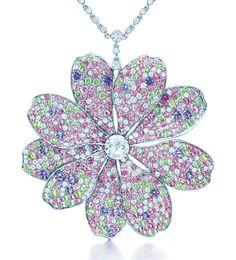 Tiffany & Co. 2014 Blue Book Flower Pendant