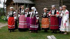 traditional estonian costume - Google Search