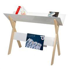 Oggetti Design - Portalibri Lesefutter Bianco - Raily.it