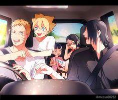 Awe so cute Naruto Vs Sasuke, Anime Naruto, Boruto And Sarada, Sasunaru, Naruto Comic, Naruto Cute, Naruto Shippuden Anime, Sakura And Sasuke, Manga Anime