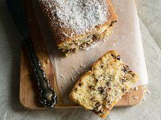 Κέικ με Καρύδα και Σταγόνες Γάλακτος