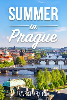 How Locals Spend Summer in Prague Prague in summer can feel a bit too crowded if you stick to Old To Backpacking Europe, Europe Travel Guide, Europe Destinations, Travel Guides, European Vacation, European Travel, Cool Places To Visit, Places To Travel, Prague Travel