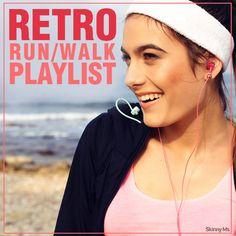 Retro Run Walk Playlist