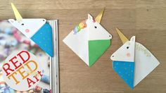 It has only been about 2 weeks without new corner bookmark design…. so thought it was about time to do another (hahahaha). Today, I have a MUCH requested UNICORN Corner Bookmark! Yes, a unicorn. This of course doubles up VERY nicely as a Horse Bookmark too (just omit the horn, and use a variety of …