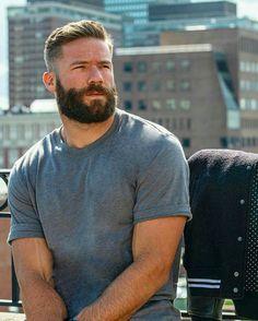 Medium Beard Styles, Hair And Beard Styles, Great Beards, Awesome Beards, Burley Men, Beautiful Men Faces, Beard Love, Beard No Mustache, Moustache