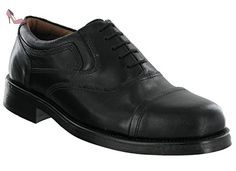 Red Tape , Chaussures à lacets homme - noir - noir, 42.5 - Chaussures red tape (*Partner-Link)