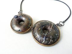by Leila Bidler swellegant, polymer clay, hollow beads
