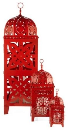 Red Vintage Home Decor