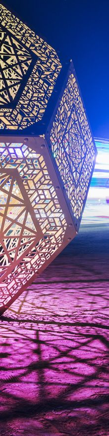 Hybycozo Lit - Burning Man 2015 Photography by Cliff Baise